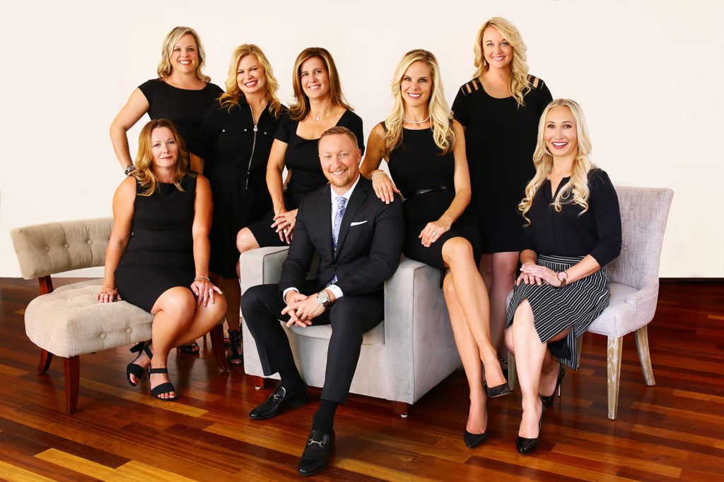 Group picture of the staff at Zohowski Plastic Surgery in Columbus, OH