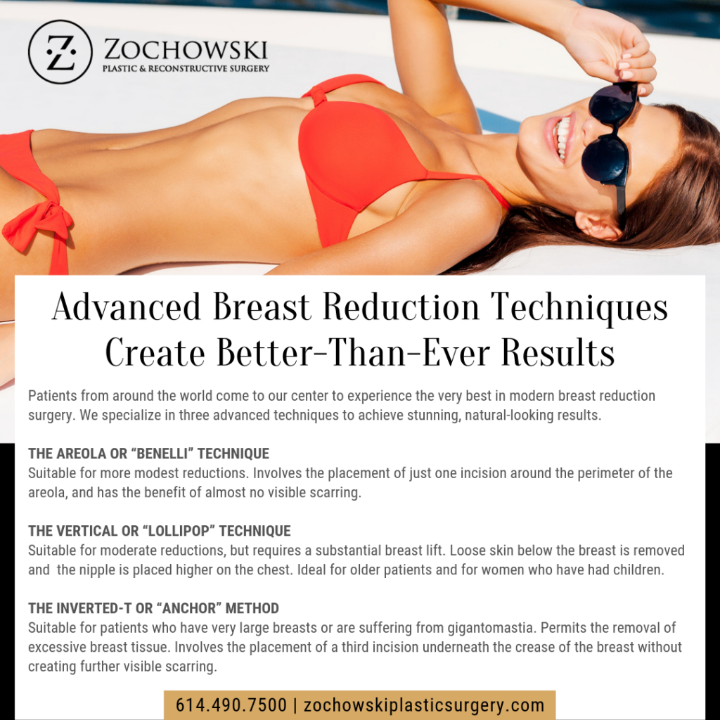 Advanced Breast Reduction Techniques Create Better Than Ever